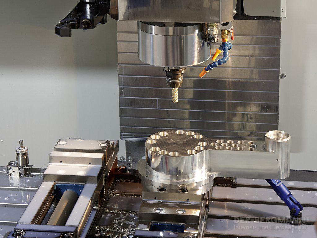 Maschine mit Werkstück